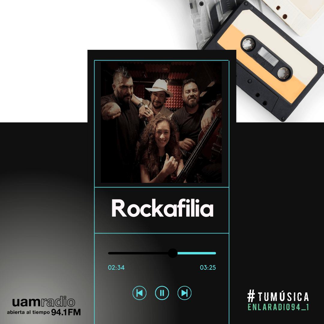 UAM Radio 94.1. Series actuales. TMR. Rockafilia