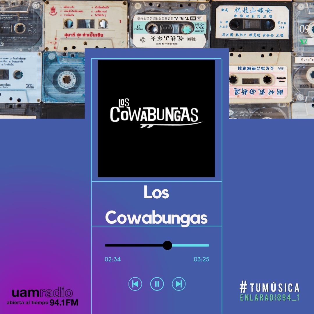 UAM Radio 94.1. Series actuales. TMR. Los Cowabungas
