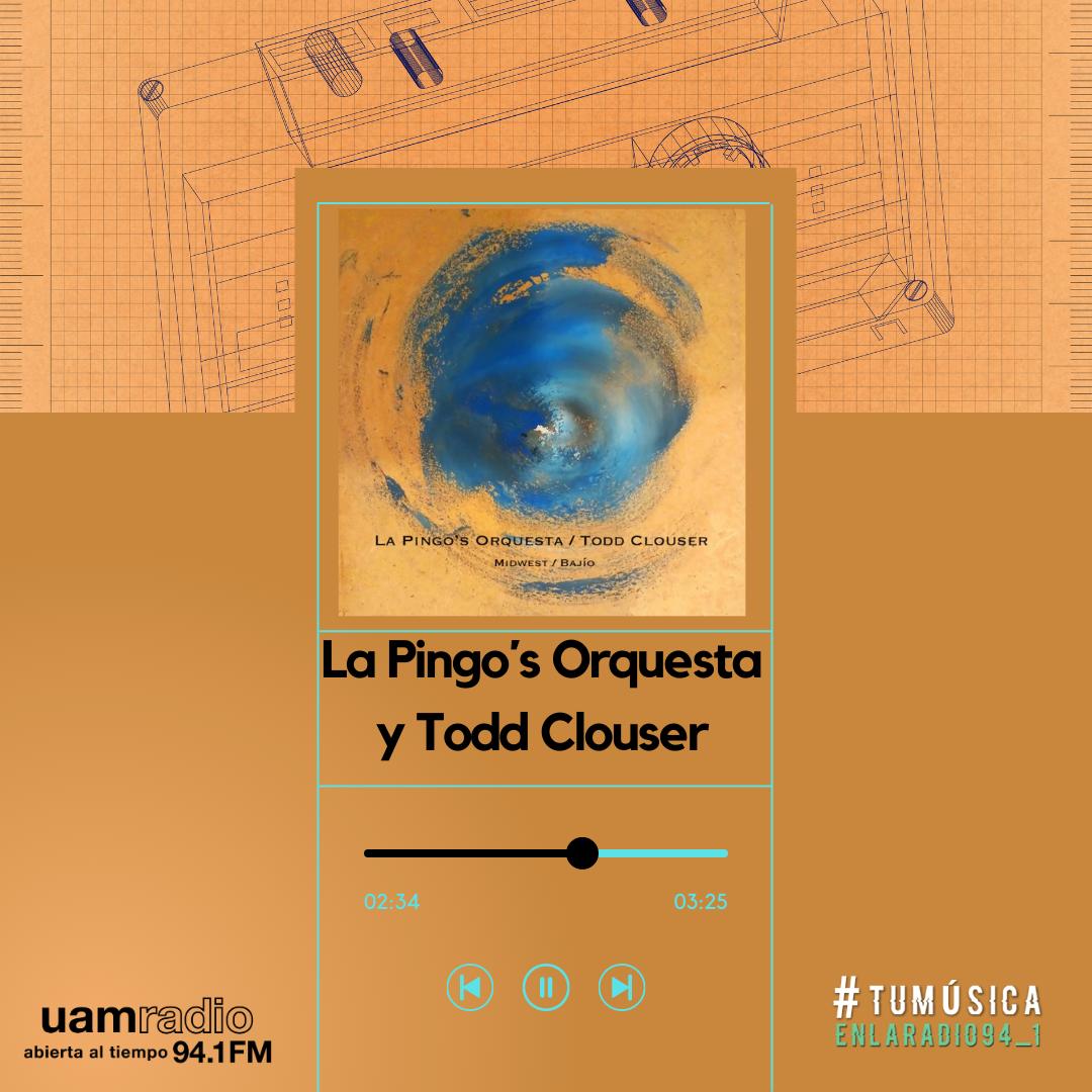 UAM Radio 94.1. Series actuales. TMR. La Pingo´s Orquesta y Todd Clouser