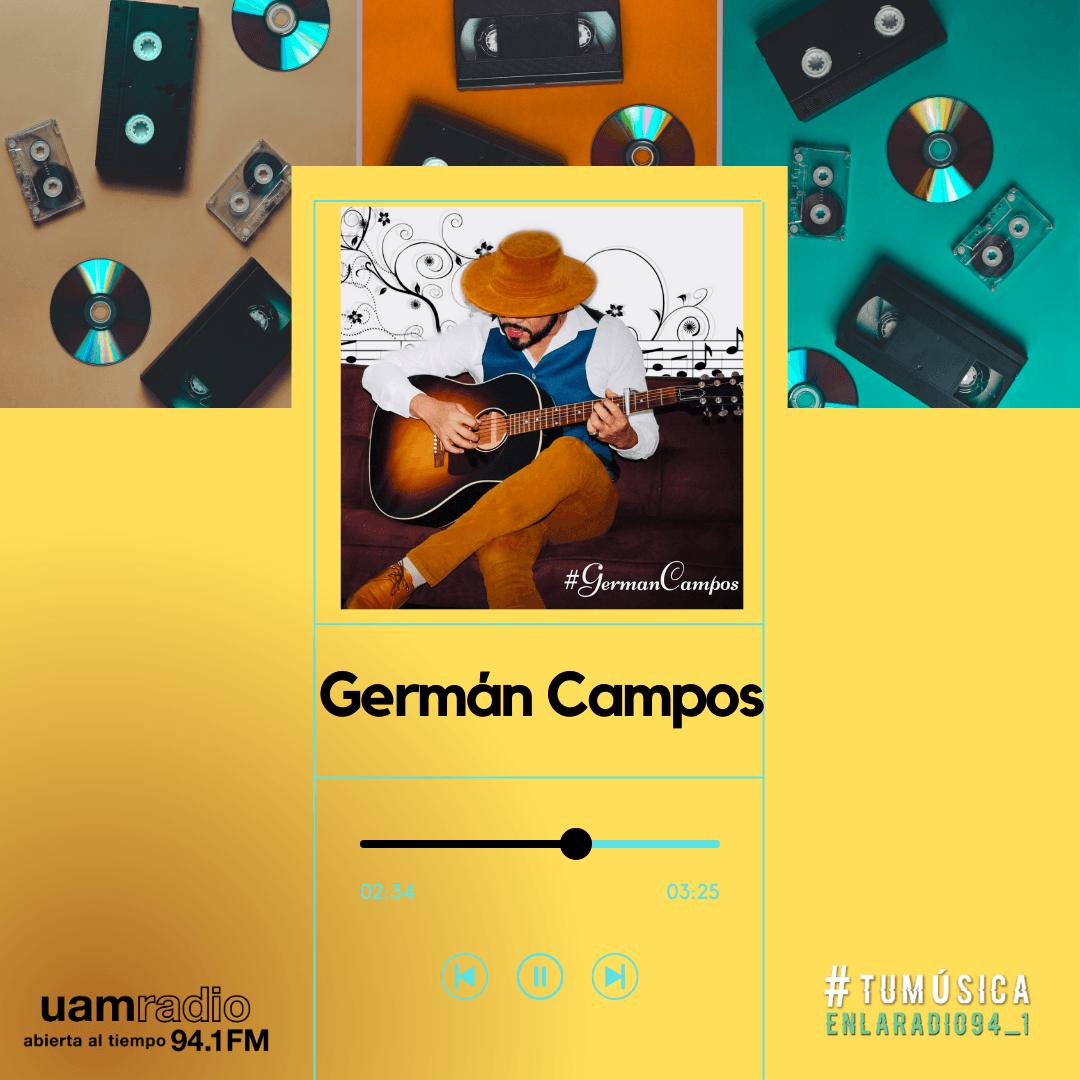UAM Radio 94.1. Series actuales. TMR. Germán Campos