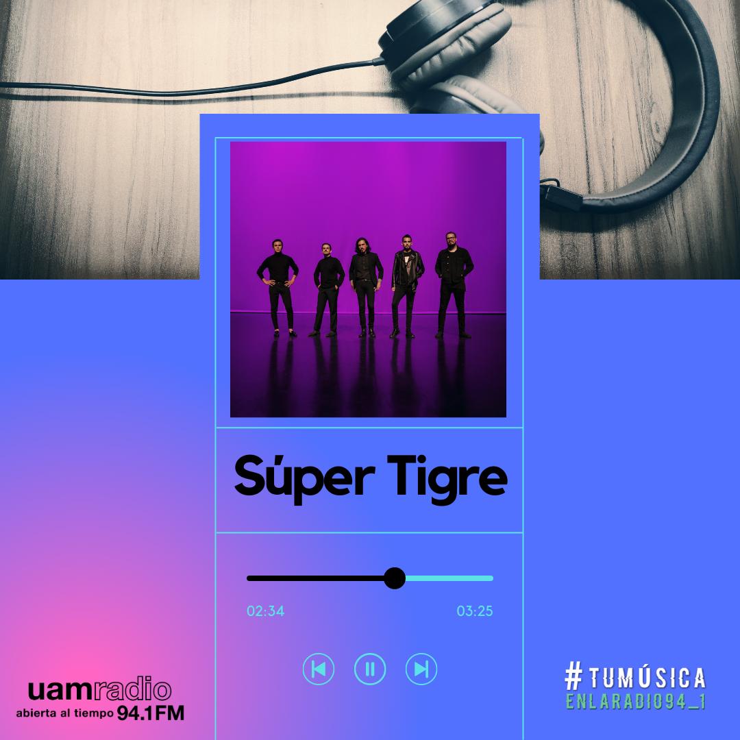 UAM Radio 94.1. Series actuales. TMR. Súper Tigre