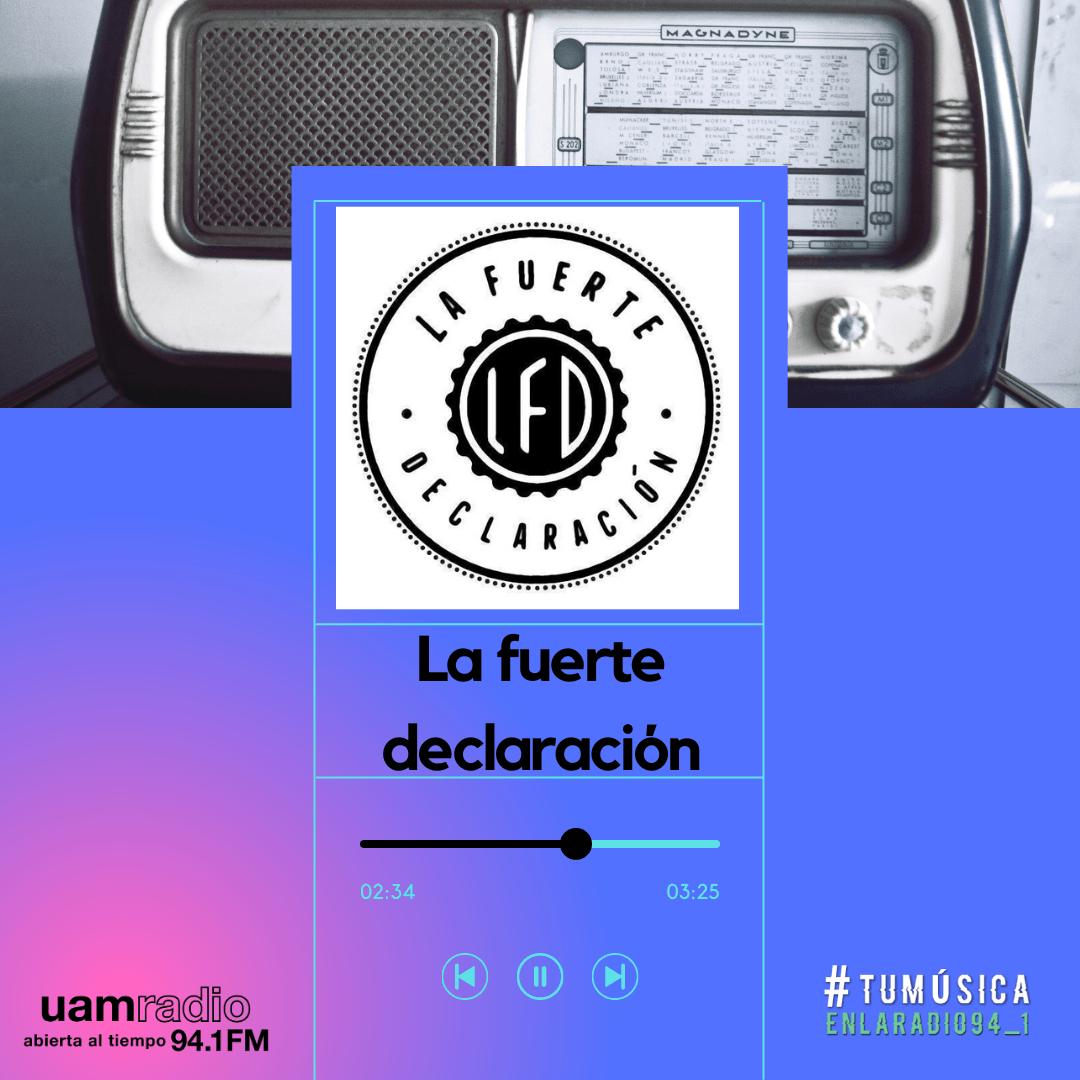 UAM Radio 94.1. Series actuales. TMR. La fuerte declaración
