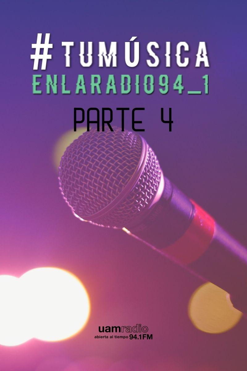 UAM Radio 94.1 FM Tu Música en la Radio Parte 4